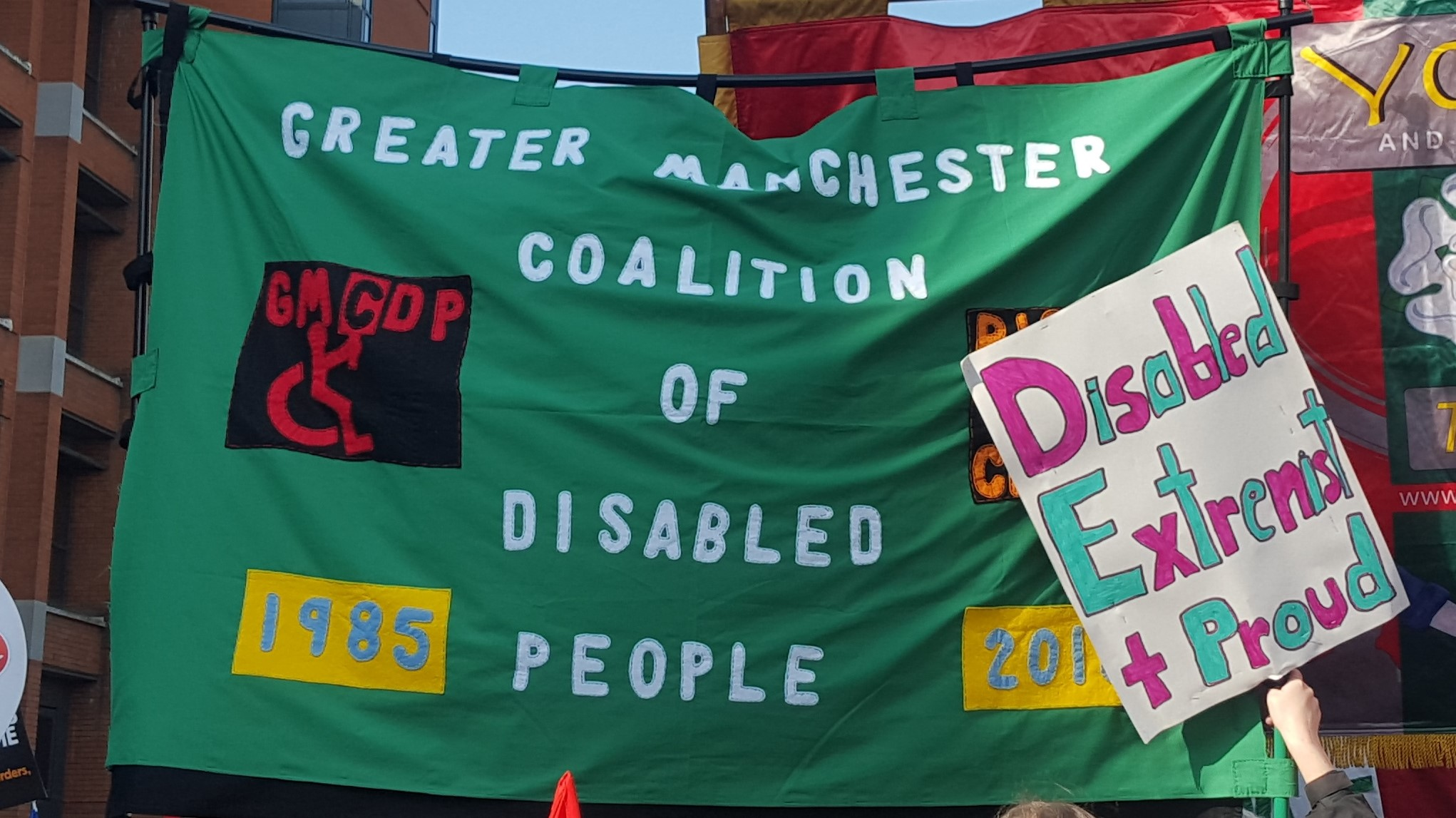 Anti Austerity March, Manchester 2016