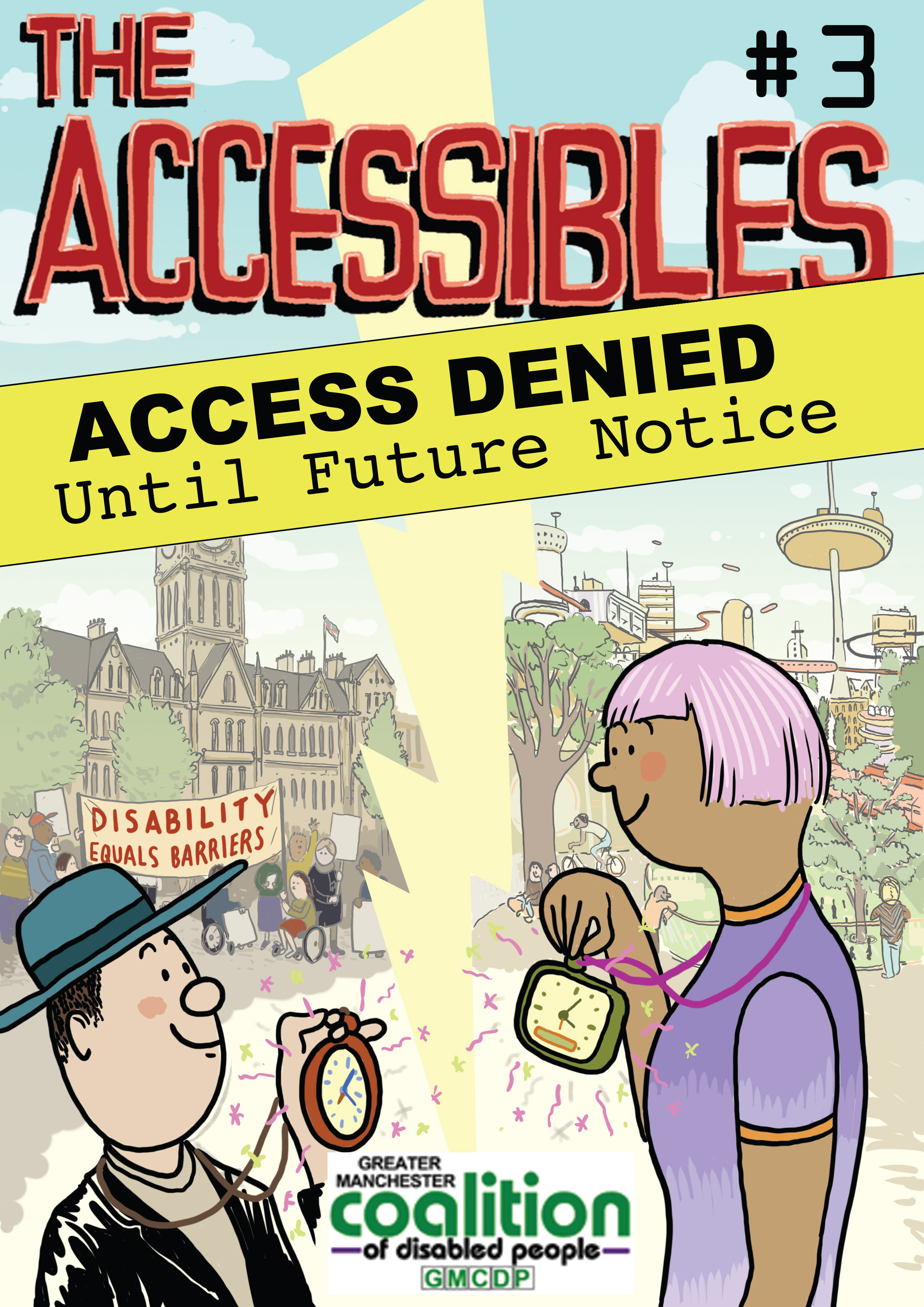 The Accessibles issue 3 cover