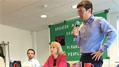 GM Mayoral candidates at GMCDP's mayoral hustings