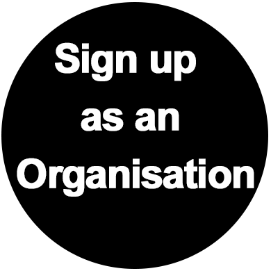 Sign up organisation